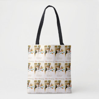 Vintage A Blessed Thanksgiving Tote Bag