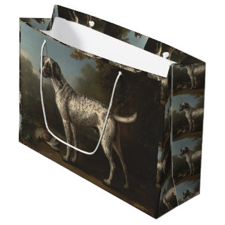 Vintage A Grey Spotted Hound John Wootton Large Gift Bag