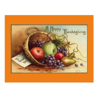 Vintage A Happy Thanksgiving Postcard