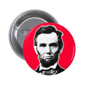 Vintage Abe Lincoln 6 Cm Round Badge