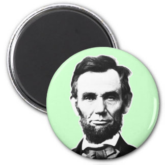 Vintage Abe Lincoln 6 Cm Round Magnet