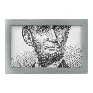 Vintage Abe Lincoln Bust Belt Buckle