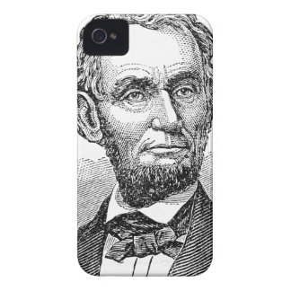 Vintage Abe Lincoln Bust iPhone 4 Case