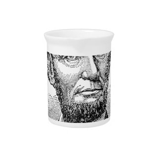 Vintage Abe Lincoln Bust Pitcher