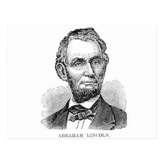 Vintage Abe Lincoln Bust Postcard