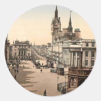 Vintage Aberdeen - Union Street Classic Round Sticker