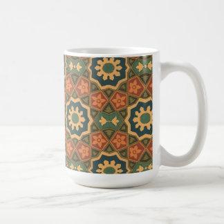 Vintage Abstract (14) Basic White Mug