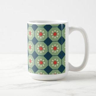 Vintage Abstract (15) Basic White Mug