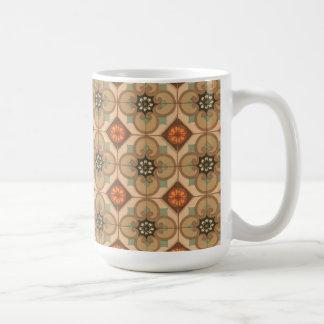 Vintage Abstract (5) Basic White Mug