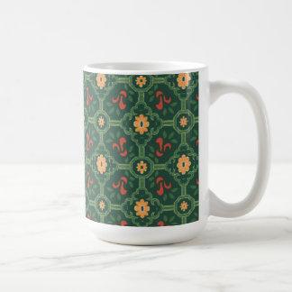 Vintage Abstract (6) Basic White Mug