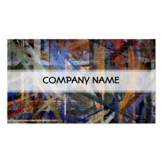 Vintage Abstract Art Painting Pack Of Standard Business Cards
