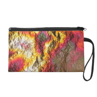 Vintage Abstract Bag Wristlet Purse