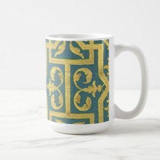 Vintage Abstract Coffee Mugs
