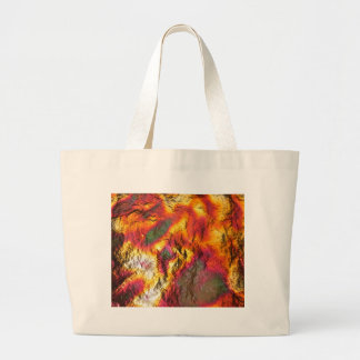Vintage Abstract Multi-Layer Large Tote Bag