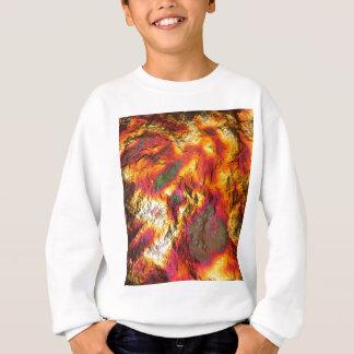 Vintage Abstract Multi-Layer Sweatshirt