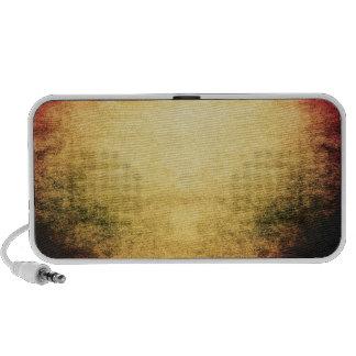 Vintage Abstract Urban Grunge Laptop Speaker