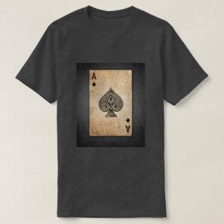 """""""Vintage Ace of Spades"""" Antique print T-shirt"""