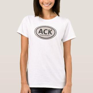 Vintage ACK Nantucket MA Beach Tag T-Shirt