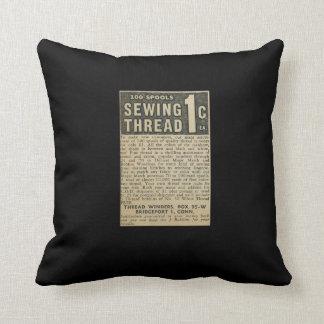 Vintage Ad Cushion