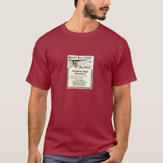 Vintage Ad - Get at the breech of a Big Dick! T-Shirt