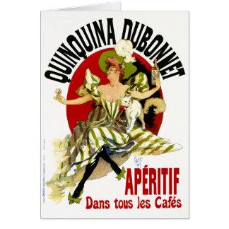 vintage Ad - Quinquina Dubonnet - Jules Cheret Card