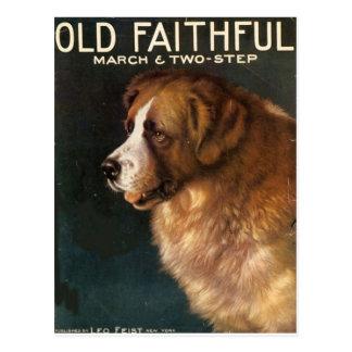 Vintage Ads featuring Animals Postcard