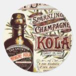 Vintage Advert #1 Classic Round Sticker