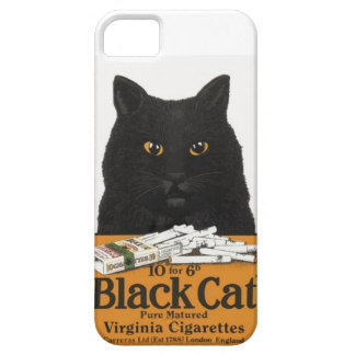 Vintage Advert Black Cat Virginia Cigarettes iPhone 5 Cases