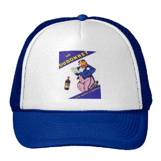 Vintage advertisement for Dubonnet Trucker Hats