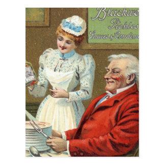 Vintage Advertisement Postcard