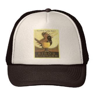 Vintage advertising Birds Custard Mesh Hats