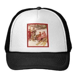 Vintage advertising cap