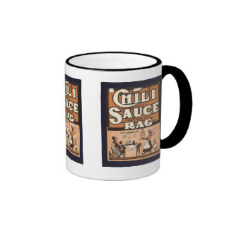 Vintage advertising,  Chili Sauce Rag Ringer Mug