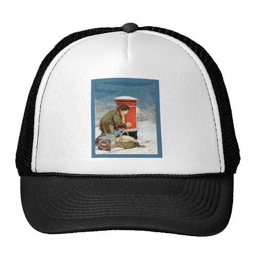 Vintage advertising, circa 1920 trucker hat
