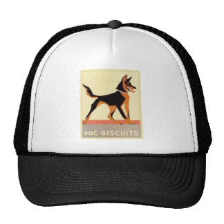 Vintage advertising dog biscuits hats