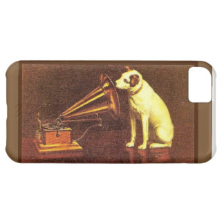 VIntage advertising, His master's Voice iPhone 5C Case