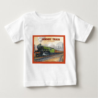 Vintage Advertising, Hornby Train sets Baby T-Shirt