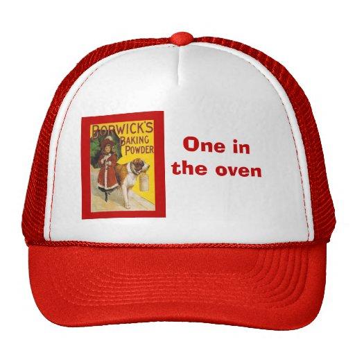 Vintage advertising Horwicks Baking Powder Mesh Hats