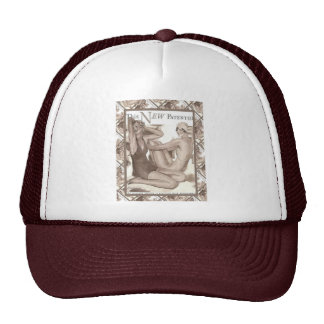 Vintage advertising images, early 20th century cap