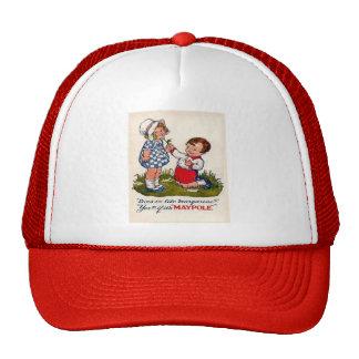 Vintage advertising, Maypole margarine Mesh Hats