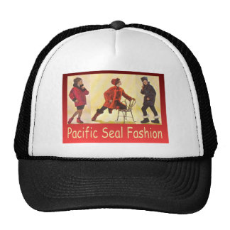 Vintage advertising, Pacific Seal Fashion Hat
