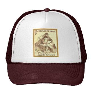 Vintage advertising Pears soap for children Hat