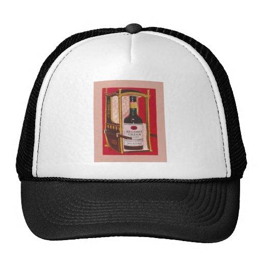 Vintage advertising, Regency Cream Sherry Mesh Hats