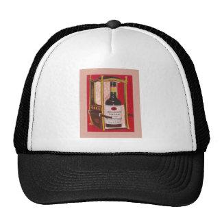Vintage advertising Regency Cream Sherry Mesh Hats