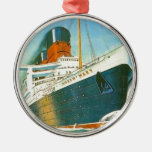 Vintage advertising, RMS Queen Mary Christmas Tree Ornaments