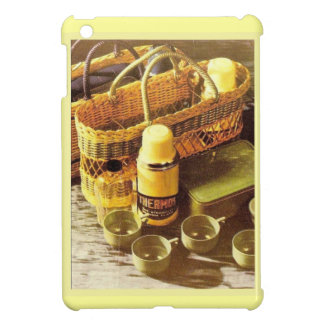 Vintage advertising, Thermos flask picnic Case For The iPad Mini