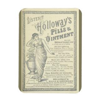 Vintage Advertisment Rectangular Photo Magnet