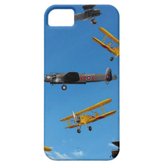 vintage aeroplane design iPhone 5 cover