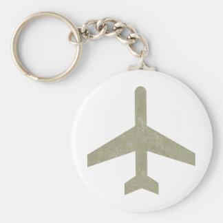 Vintage Aeroplane Keychains