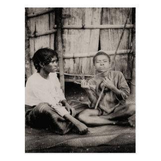 Vintage, African boys, sub-Saharan Africa 1900 Postcard
